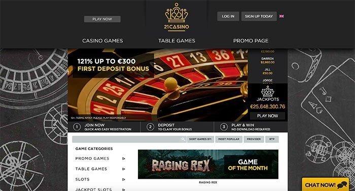 21 casino online
