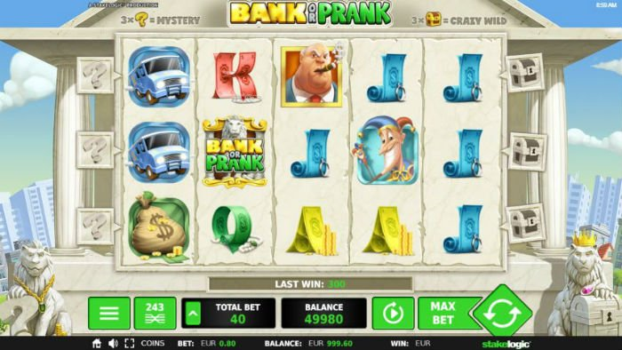 bank or prank gokkast