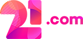 21 logo popup