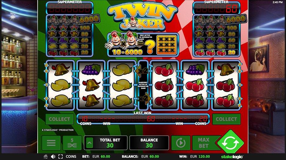 twin joker gokkast