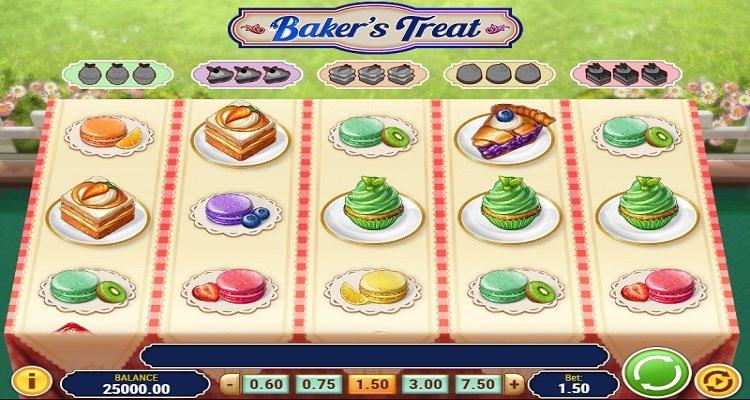 Bakers Treat Slot Gokkast