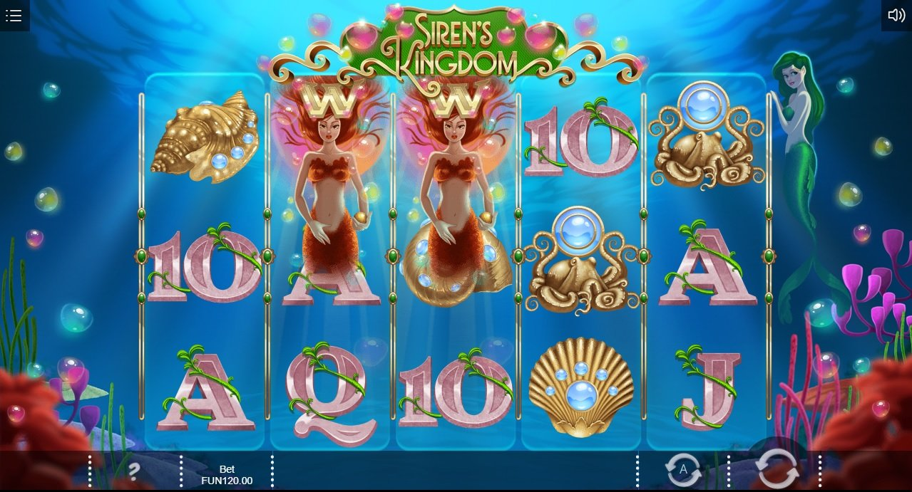 Sirens Kingdom slot