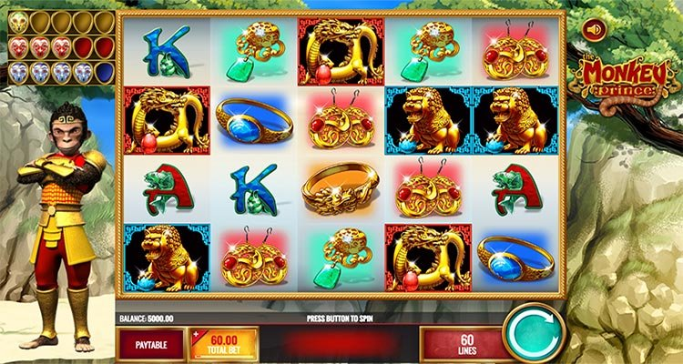 the monkey prince gokkast slot