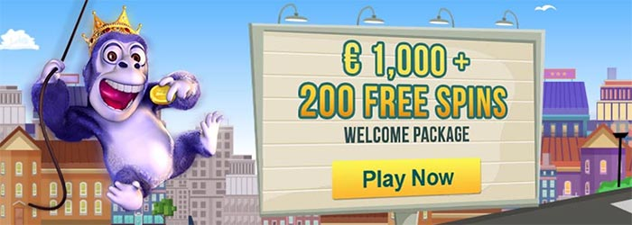 luckland 200 free spins
