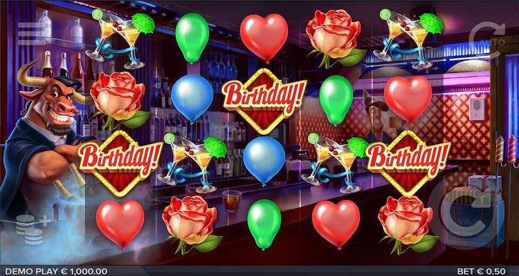 Birthday slot