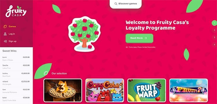 fruity casa nieuw
