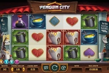 penguin city slot gokkast