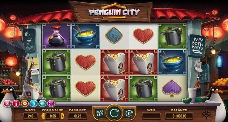 penguin city slot gokkast