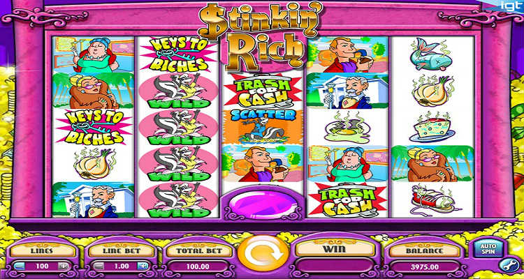 More to explore with Stinkin Rich Slot Game