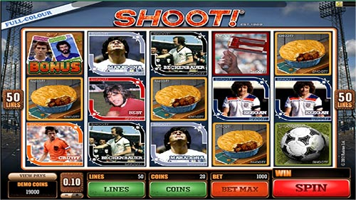 shoot gokkast