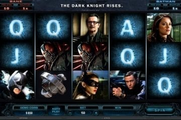 the dark knight rises slot