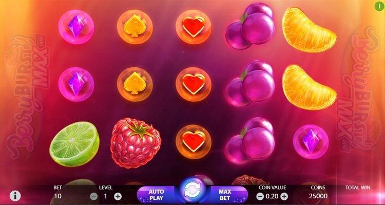 Berry Burst Max slot