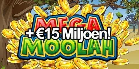 mega moolah 15 miljoen