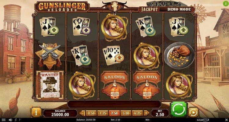 Gunslinger - Reloaded slot