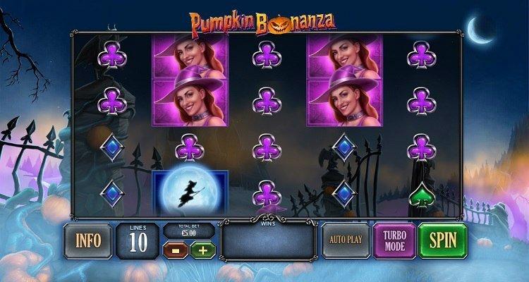 Pumpkin bonanza slot