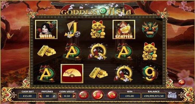 goddess of asia slot