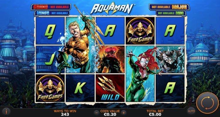 Aquaman Slot