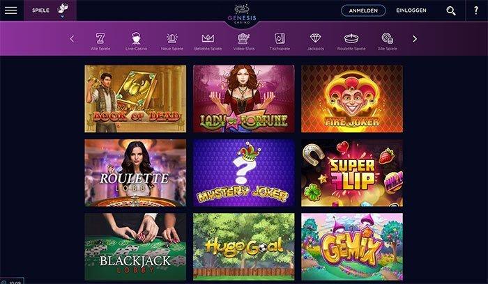 genesis casino webseite