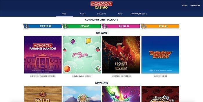 monopoly casino uk
