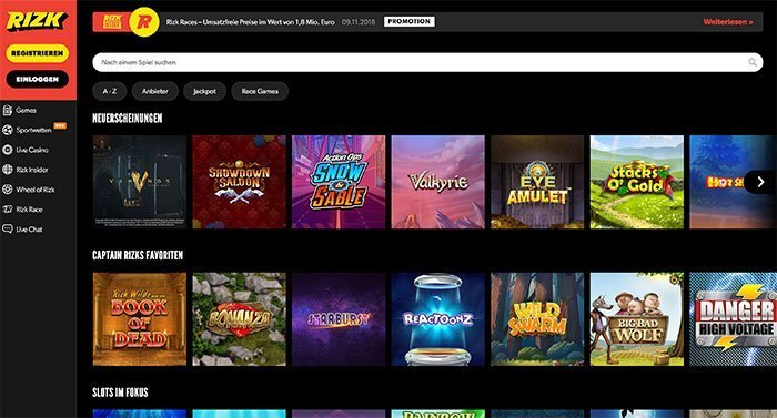 rizk casino webseite