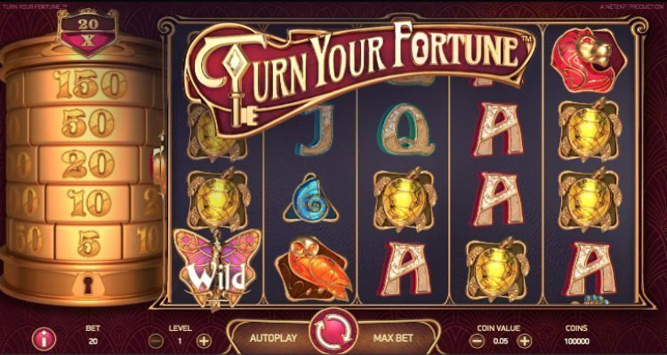Turn your fortune slot