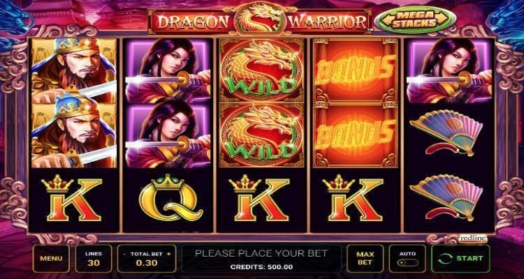 dragon warrior slot