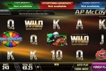 AP McCoy Sporting Legends Slot