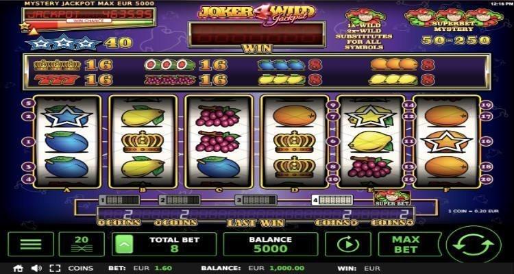 Joker 4 Wild Jackpot slot