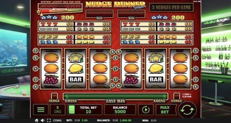 Nudge runner jackpot slot