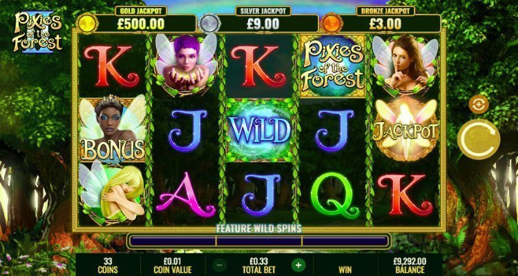 Pixies of the Forest II slot