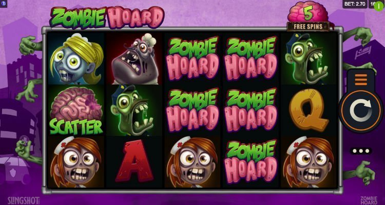 Zombie Hoard Slot
