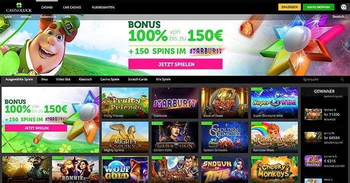 casinoluck deutschland