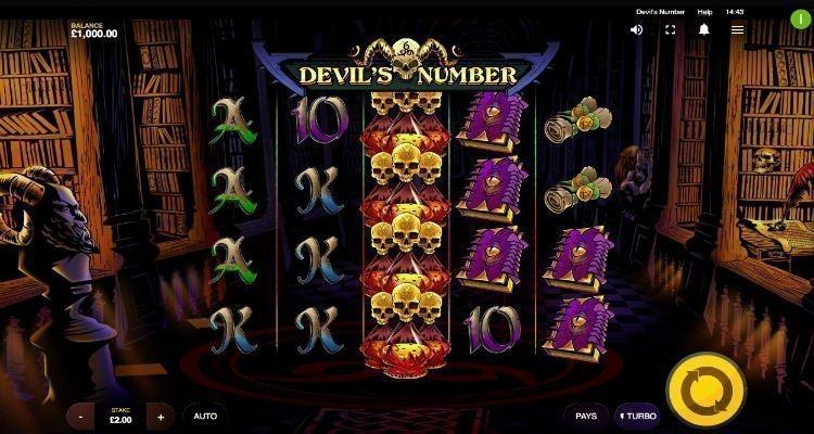 Devils Number Slot