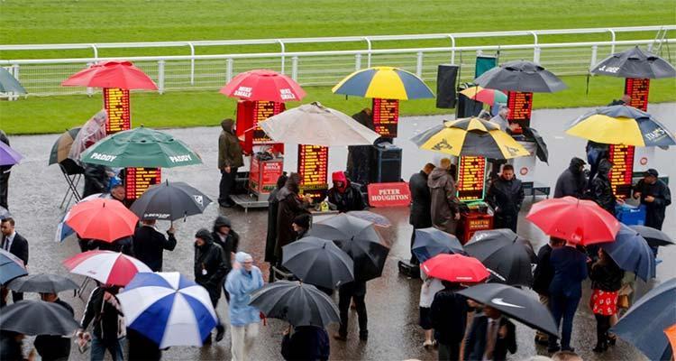 bookmakers bij paardenrennen UK