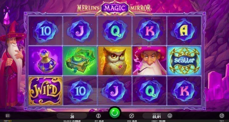 Merlins Magic Mirror Slot