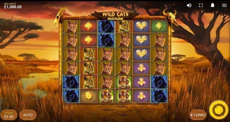 Wild Cats Multiline slot