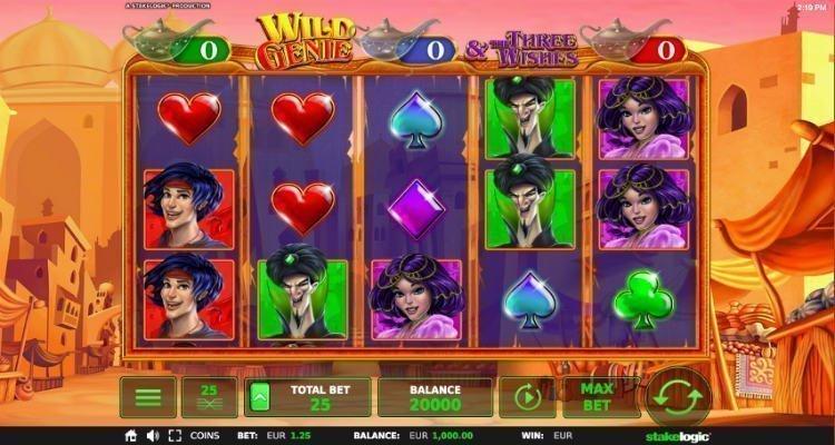 Wild Genie Slot