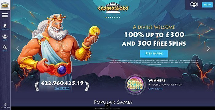 casino gods uk