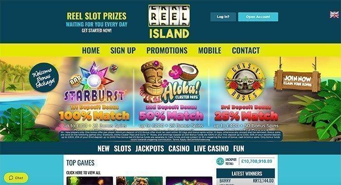 reel island casino online