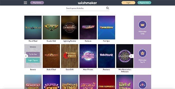 homepage wishmaker