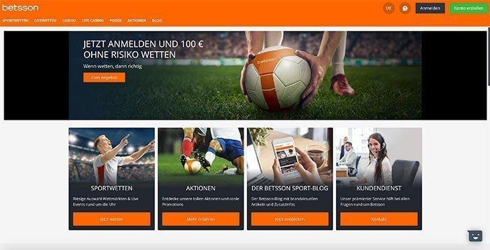betsson deutschland homepage