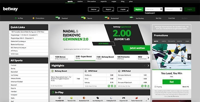 betway deutsch