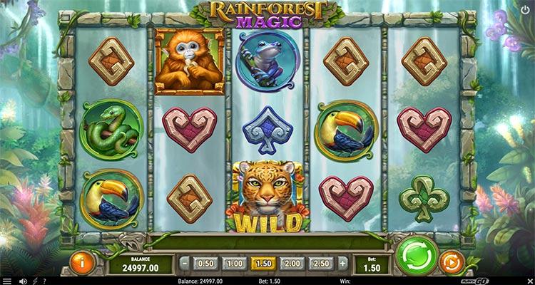 rainforest magic play'n go