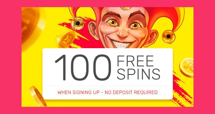 100 free spins justspin casino