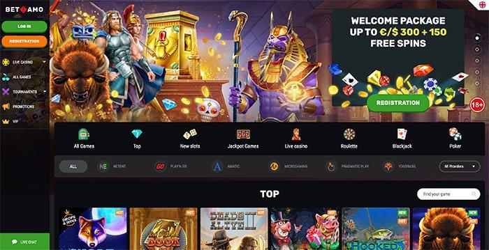 betamo homepage