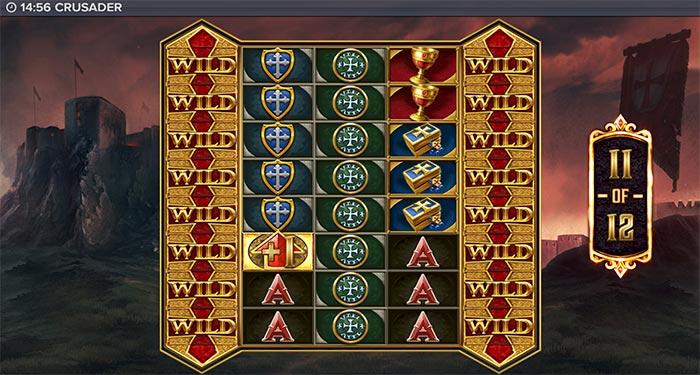 crudader bonus game