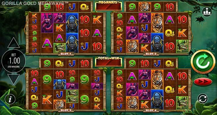 gorilla gold megaways gokkast