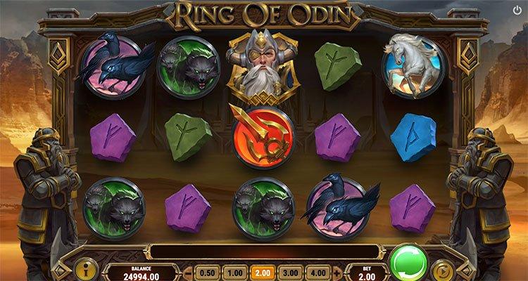 ring of odin gokkast playngo