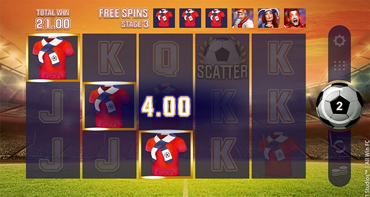 all win fc free spins