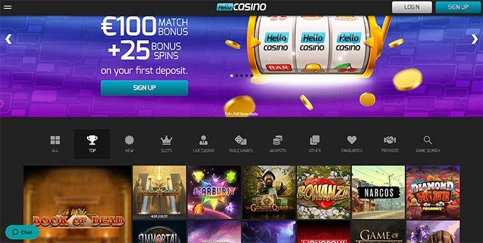 hello casino homepage uk